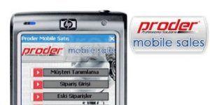 Proder Mobile Sales Ekran Görüntüsü