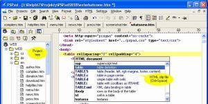 PSPad Ekran Görüntüsü