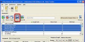 Rank Tracker Ekran Görüntüsü