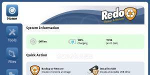 Redo Backup and Recovery Ekran Görüntüsü