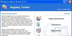 Registry Defragmentation Ekran Görüntüsü