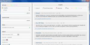 Royal RSS Reader Ekran Görüntüsü