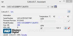 S.M.A.R.T. Assistant Ekran Görüntüsü