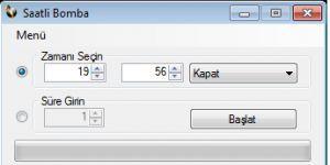 Saatli Bomba Ekran Görüntüsü