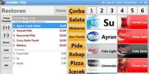 SambaPOS Ekran Görüntüsü