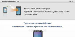 Samsung Smart Switch Ekran Görüntüsü
