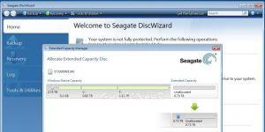 Seagate DiscWizard Ekran Görüntüsü