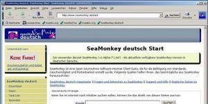 SeaMonkey Ekran Görüntüsü