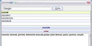 Siber.us Türkçe Sözlük Ekran Görüntüsü