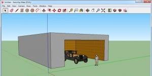 SketchUp Make Ekran Görüntüsü