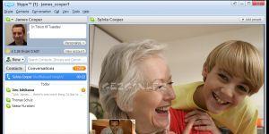 Skype Ekran G�r�nt�s�