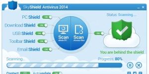 SkyShield Antivirus 2014 Ekran Görüntüsü