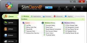 SlimCleaner Ekran Görüntüsü