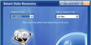 Smart Data Recovery Ekran G�r�nt�s�