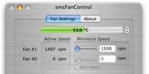 smcFanControl Ekran Görüntüsü