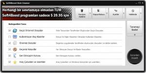 Soft4Boost Disk Cleaner Ekran Görüntüsü