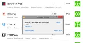 Glary Software Update Ekran Görüntüsü