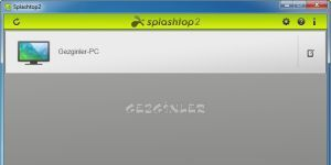Splashtop Personal Ekran Görüntüsü