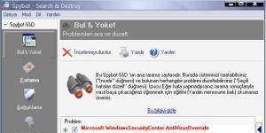 Spybot - Search & Destroy Ekran Görüntüsü