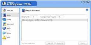 Steganos AntiSpyware Ekran Görüntüsü
