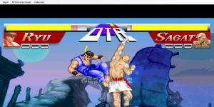 Street Fighter Flash Oyunu Ekran Görüntüsü