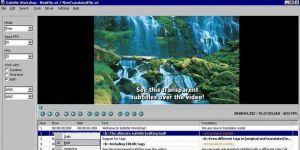 Subtitle Workshop Ekran Görüntüsü