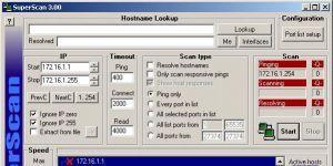 SuperScan Ekran Görüntüsü