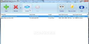 SuperSimple Video Converter Ekran Görüntüsü
