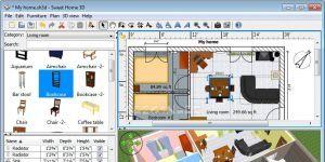 Sweet Home 3D Ekran Görüntüsü