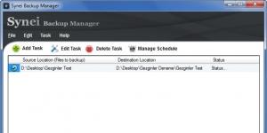 Synei Backup Manager Ekran Görüntüsü