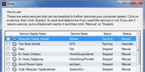 Synei Service Manager Ekran Görüntüsü