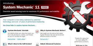 System Mechanic Free Ekran Görüntüsü
