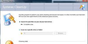 Systerac XP Tools Ekran Görüntüsü