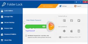 SysTools Folder Lock (Folder Key) Ekran Görüntüsü