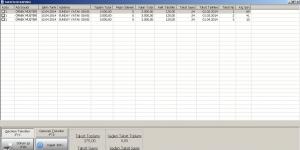 Taksitli Satış Programı Ekran Görüntüsü