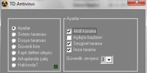 TD Antivirus Ekran Görüntüsü