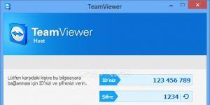 TeamViewer Host Ekran Görüntüsü