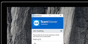 TeamViewer QuickJoin Ekran Görüntüsü