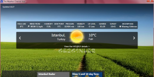 The Weather Channel App Ekran Görüntüsü