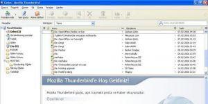 Thunderbird Ekran Görüntüsü
