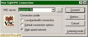 TightVNC Ekran Görüntüsü