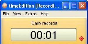 timeEdition Ekran Görüntüsü