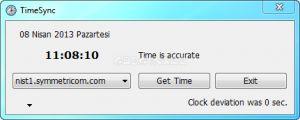 TimeSync Ekran Görüntüsü