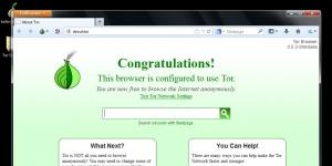 Tor Browser Ekran Görüntüsü