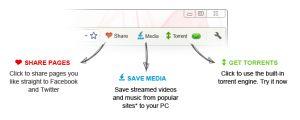 Torch Browser Ekran Görüntüsü