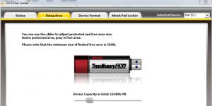 EX II Pad Locker Ekran Görüntüsü
