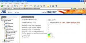 TrustPort Net Gateway Ekran Görüntüsü