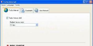 Turbo İnternet Ekran Görüntüsü