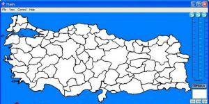 T�rkiye Haritas� Oyunu Ekran G�r�nt�s�