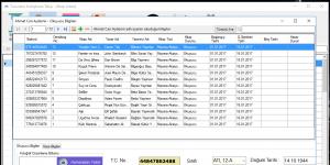 Tusunami Kütüphane Programı Ekran Görüntüsü